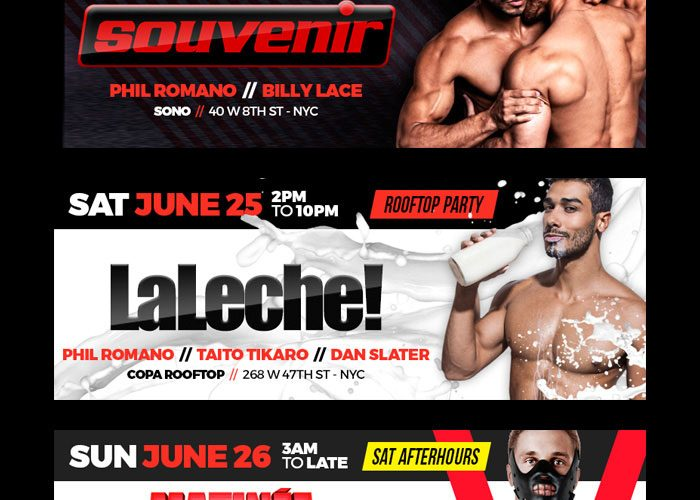 matinee, nyc pride, pride, laleche, luvboat,, gay dance party, nyc gay nightlife, chris ryan promoter, chrisryannyc