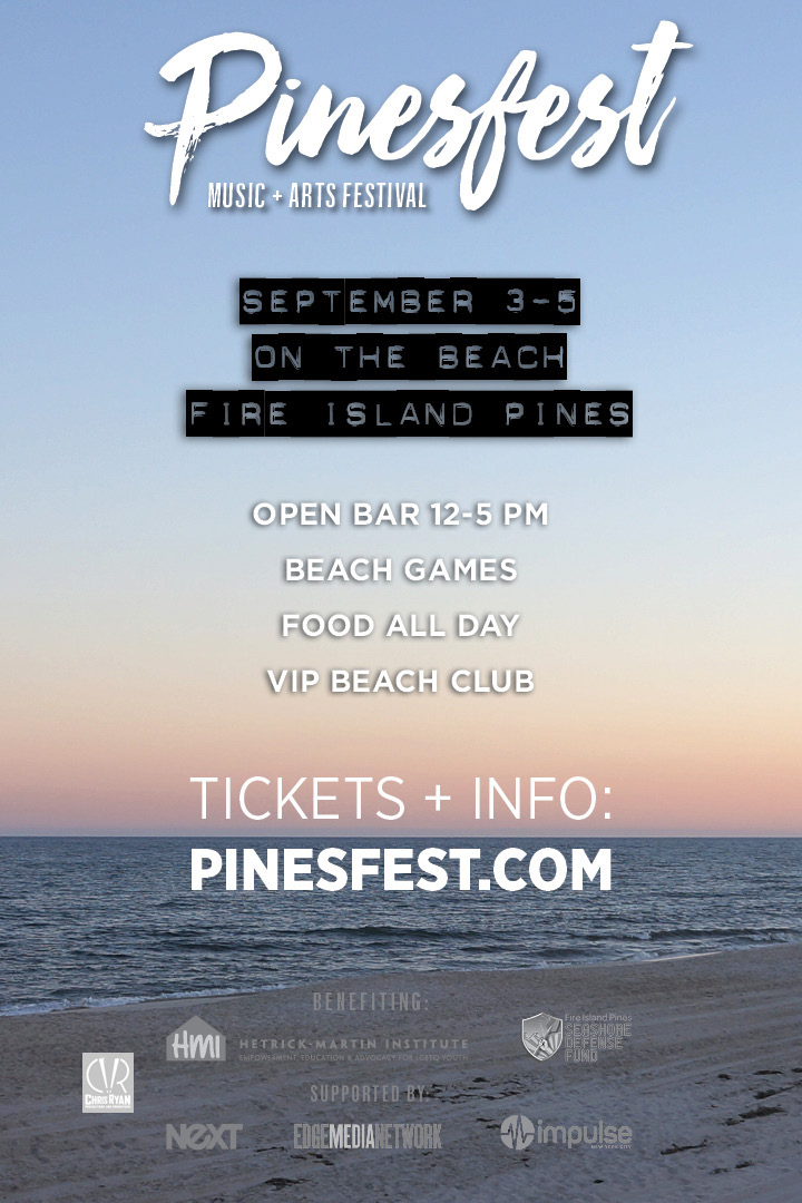 fire island pines labor day weekend
