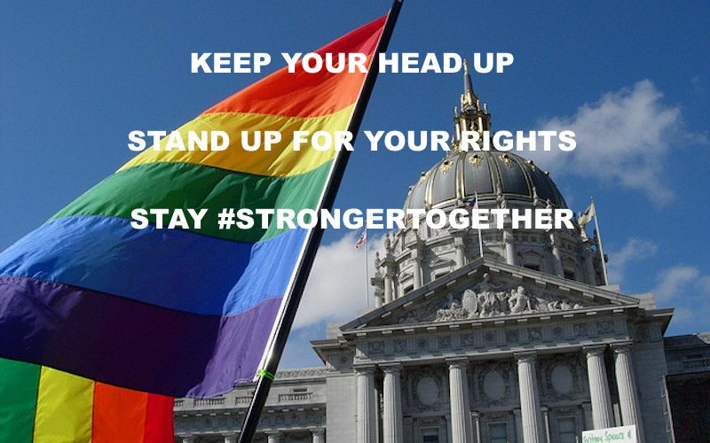 lgbtq rights, lgbt, strongertogether, gay rights, president trump, pence
